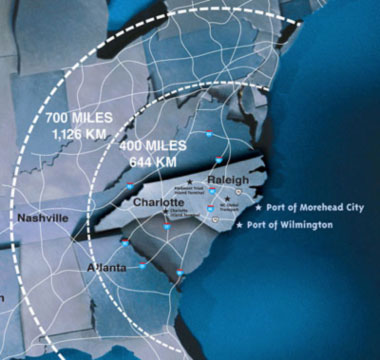 Accessibility to Major Interstates & Port of Wilmington Cold Storage u2013 Trucking Access