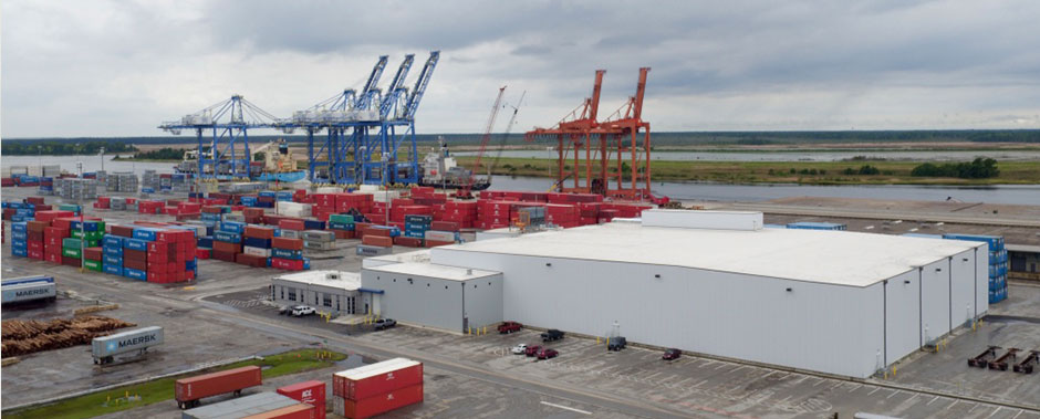 Drone Shot Slideshow Train Sch Container Truck Trucking Employee Cold Storage Nc Ports & Port Of Wilmington Cold Storage Nc 28412 u2013 PPI Blog